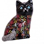 Ceramic Cat Figurines, Ceramic Animals