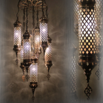Blown Glass Lamps US-N1-AL7