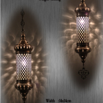 Blown glass lamps US-N3-T