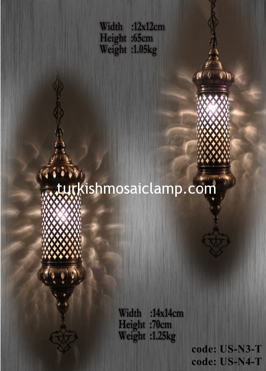 Blown Glass Lamps US N3 T