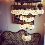 Turkish mosaic Lamps (40)