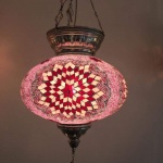 Turkish mosaic Lamps (59)