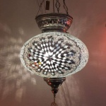 Turkish mosaic Lamps (60)