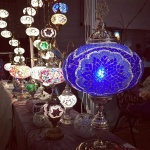 Turkish mosaic Lamps (62)