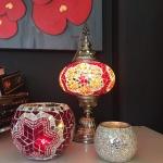Turkish mosaic Lamps (7)