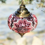 Turkish mosaic Lamps (83)