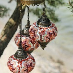 Turkish mosaic Lamps (85)