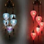 Lámpara de mosaico Turco