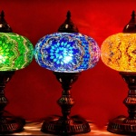 What is the main difference between a Moroccan and Turkish Mosaic lamp?