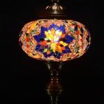 Lámparas de mosaico turco