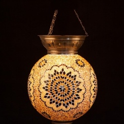 Turkish mosaic lamps as unique gifts
