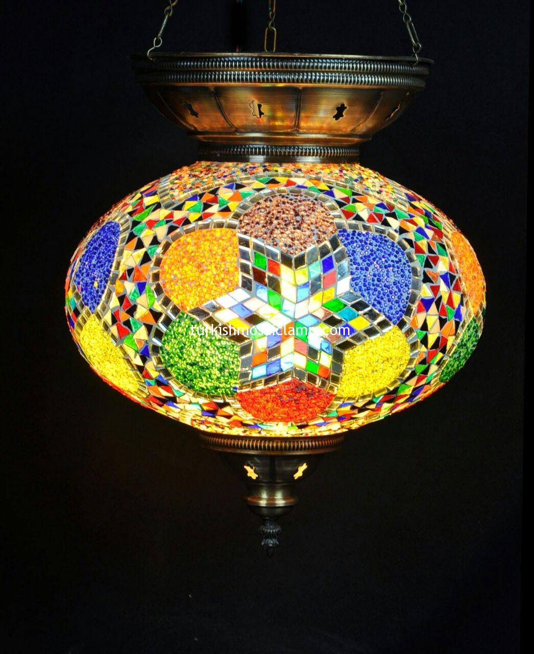 model mosaic lamp