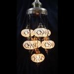 New design mosaic Turkish Lamps