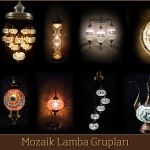 Mosaic lamp fabric, Mosaic Turkish Lamps