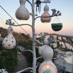 Is a mosaic lamp or a beautiful gourd lamp?