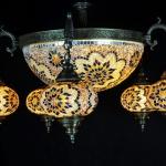 Las Vegas Mandalay Bay Mosaic Lamps