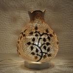 Flowers mosaic lamp