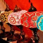 Mosaic lantern gift lamp