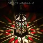 2018 new model tiffany mosaic lamp