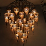 Our Decorating ideas for: Hotel mosaic lighting