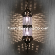 handmade blown glass lamp (1)
