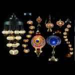 Purchase of various types of mosaic lamp