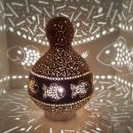 Fishs mosaic lamp