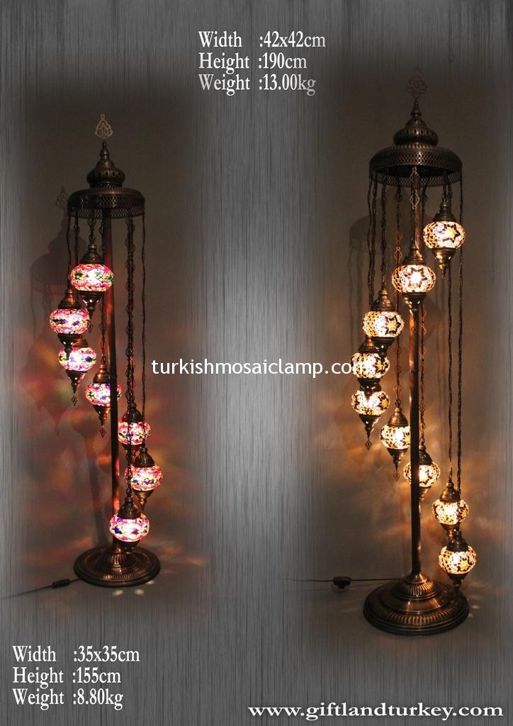 Turkish Mosaic Lamp Catolog