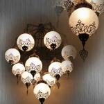 2m Wide Turkish Lamp