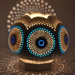 Evileye mosaic lamp