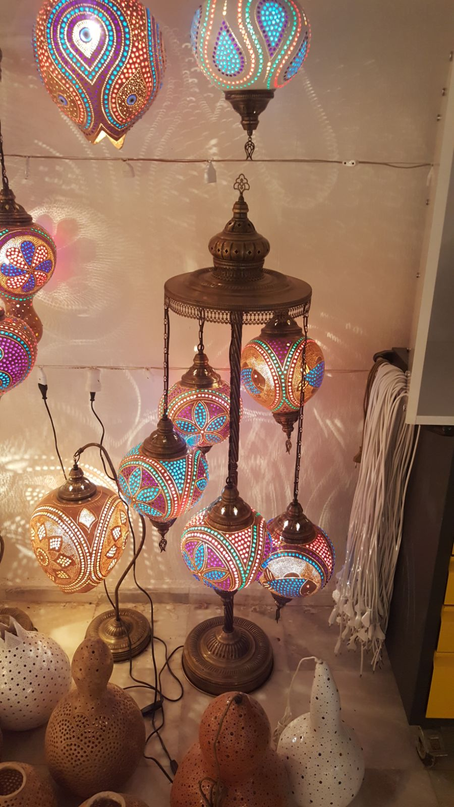 lamps gorgeous transform ski room lamp przemek into gourd realms calabarte magical otherworldly krawczy calabash by any