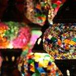 Relación con el imperio otomano y la lámpara de mosaico.