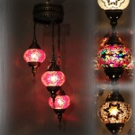 Mosaic Lamp has been handmade product produced