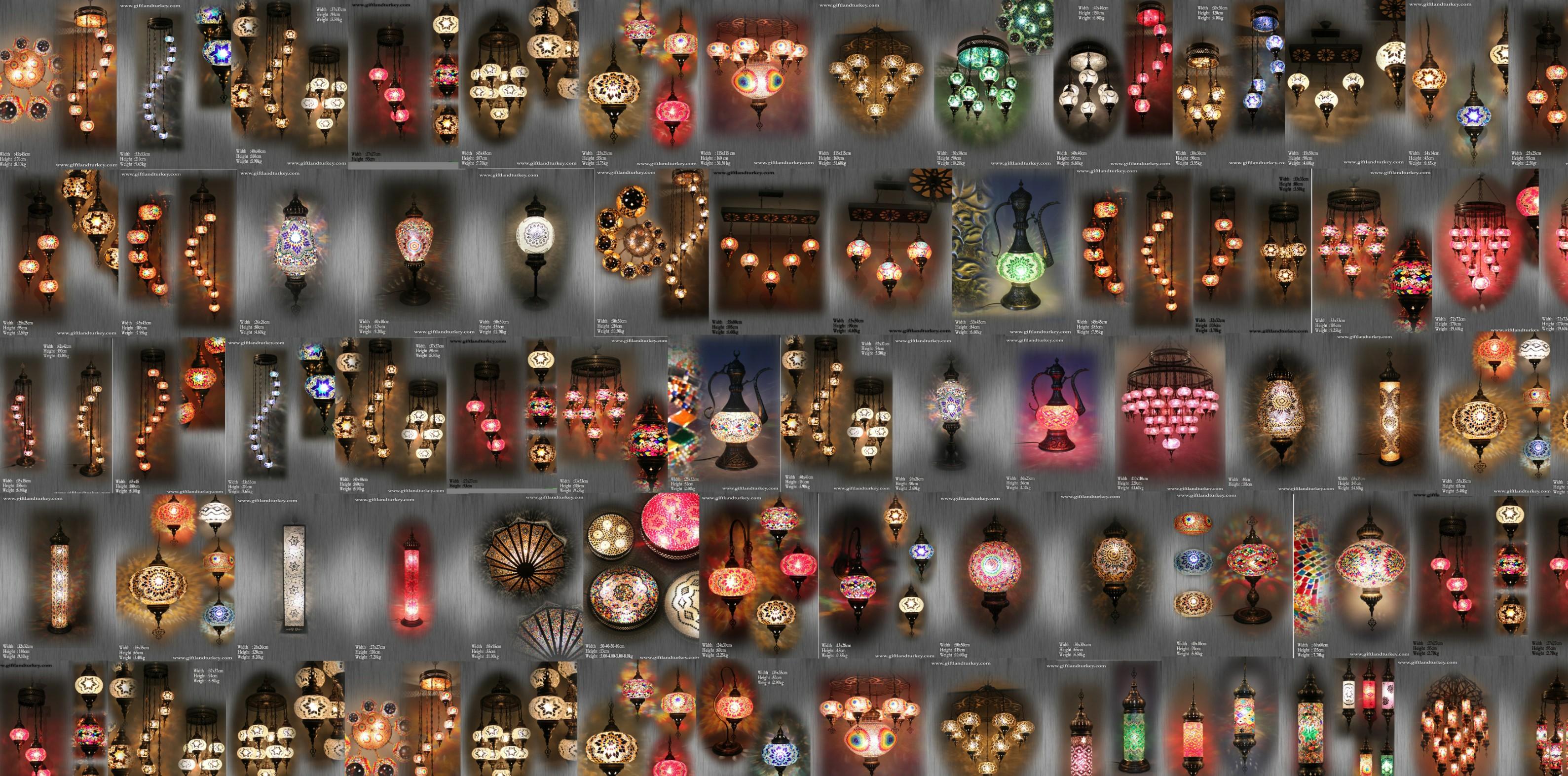 Mosaic Lamp,Mosaic Lamps,Hanmade Lamp