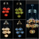Sultan mosaic lamps
