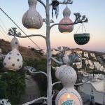 Tree mosaic lamp