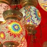 Triple chain mosaic light