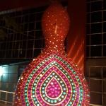 Tugra mosaic lamp