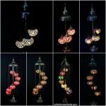 Floor Chain Mosaic Lamp