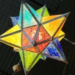 Star mosaic lamps