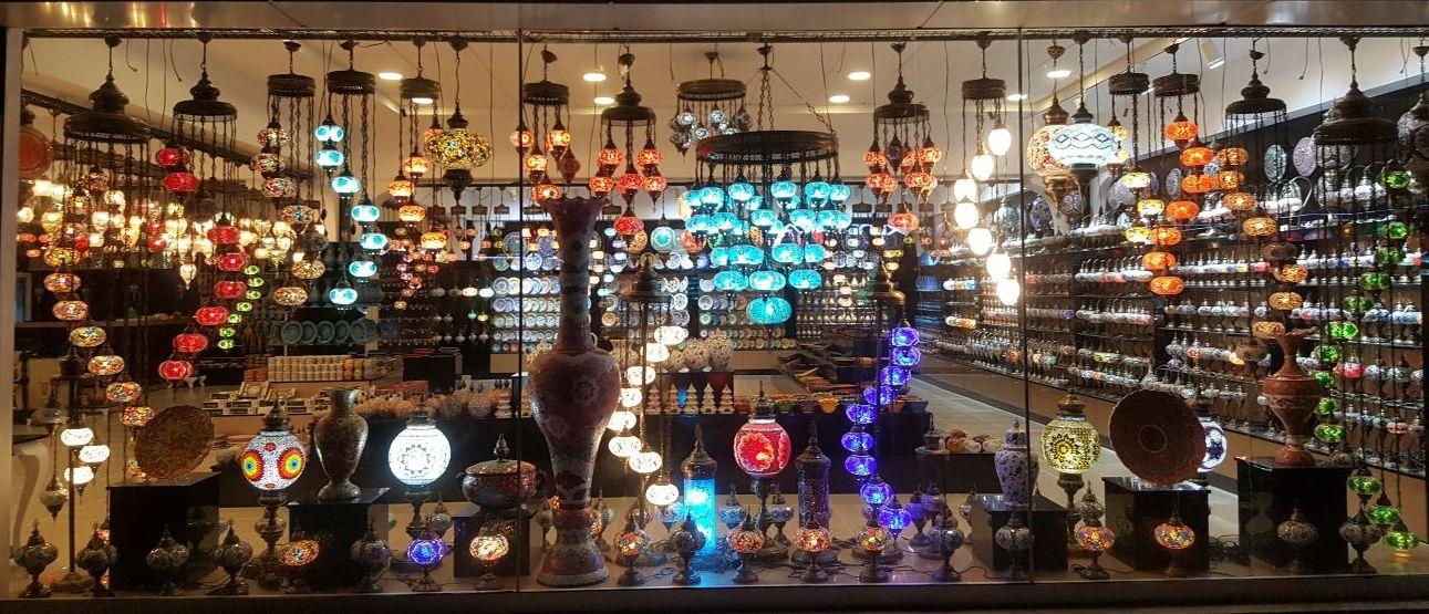 Mosaic lamp wholesale shop