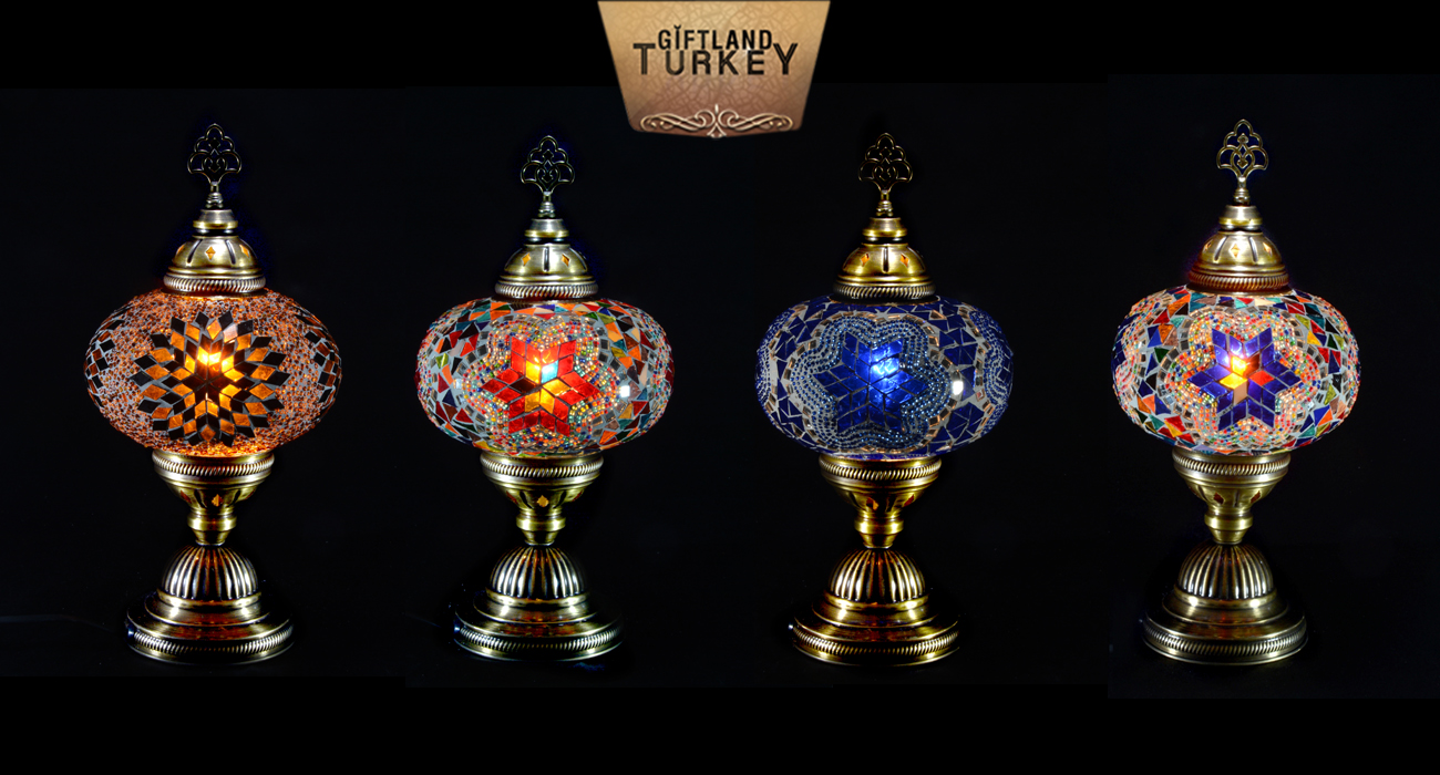 Table Mosaic Lamp Size 3