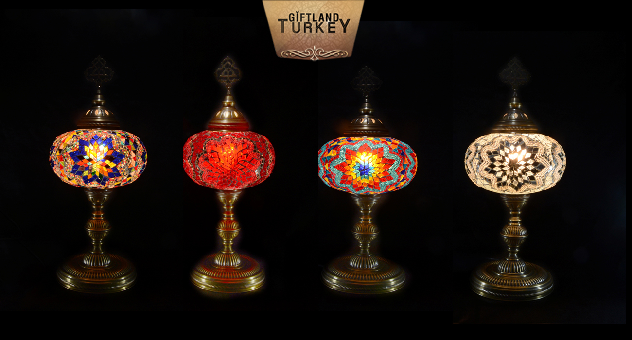 Mosaic Table Lamp Size 5