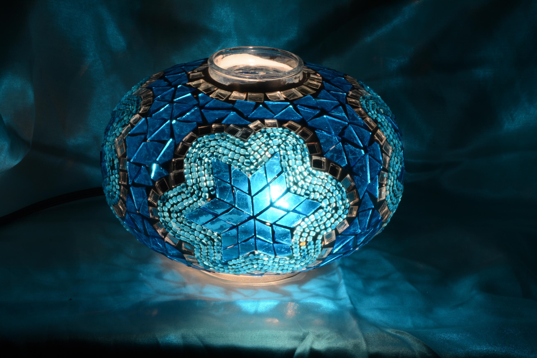 Size 3 mosaic lamp glass models