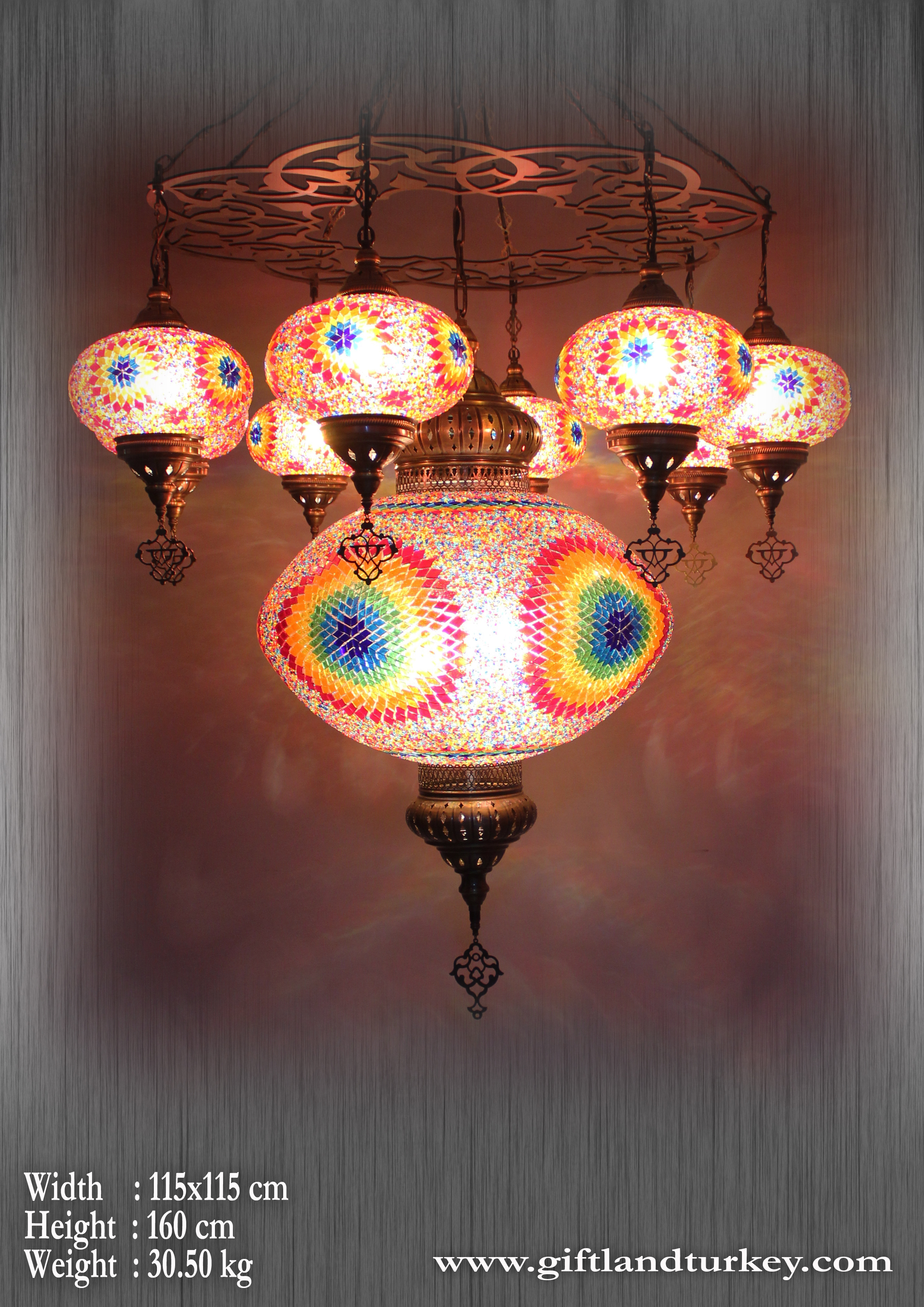 Turkish Mosaic Lamp make you feel different?