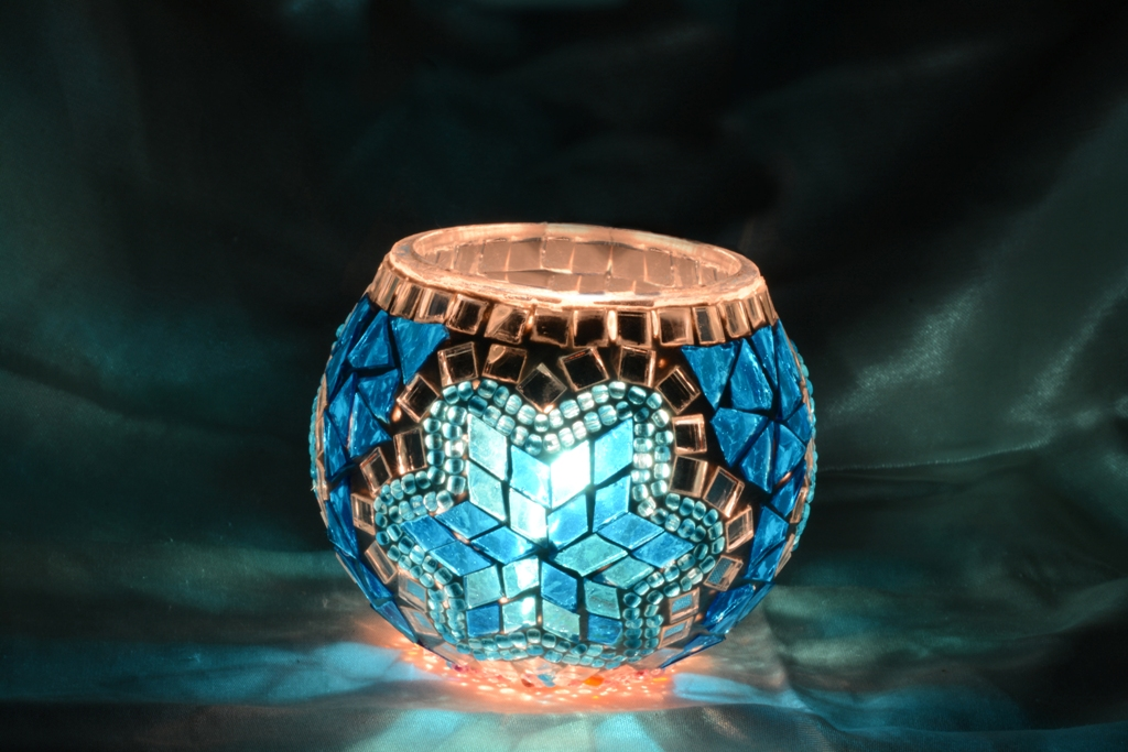 Mosaic Candle Holder Model