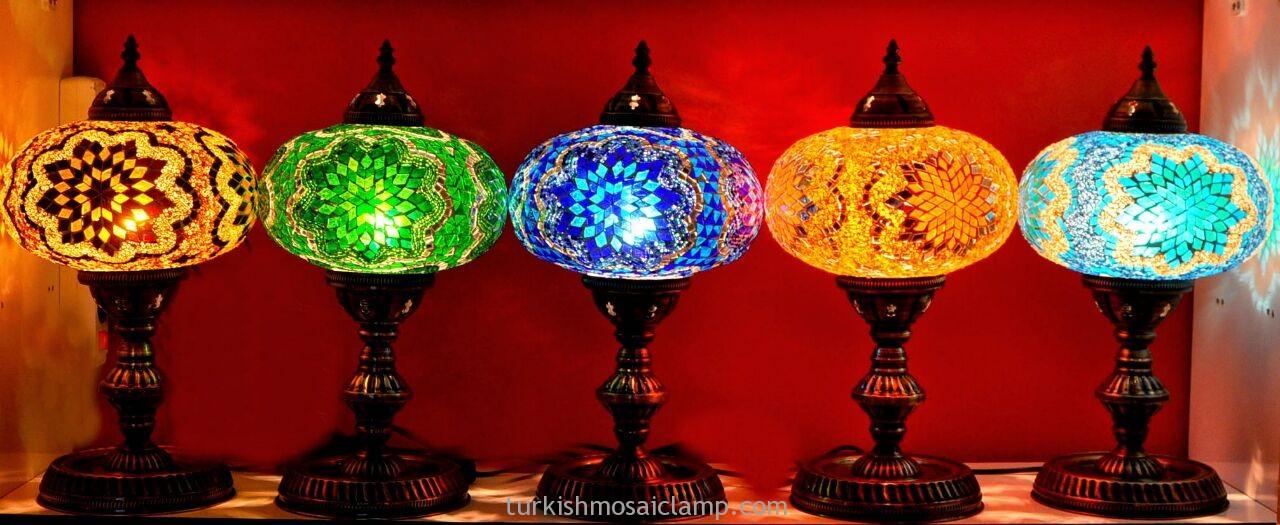 Traditional Turkish Mosaic Lamps