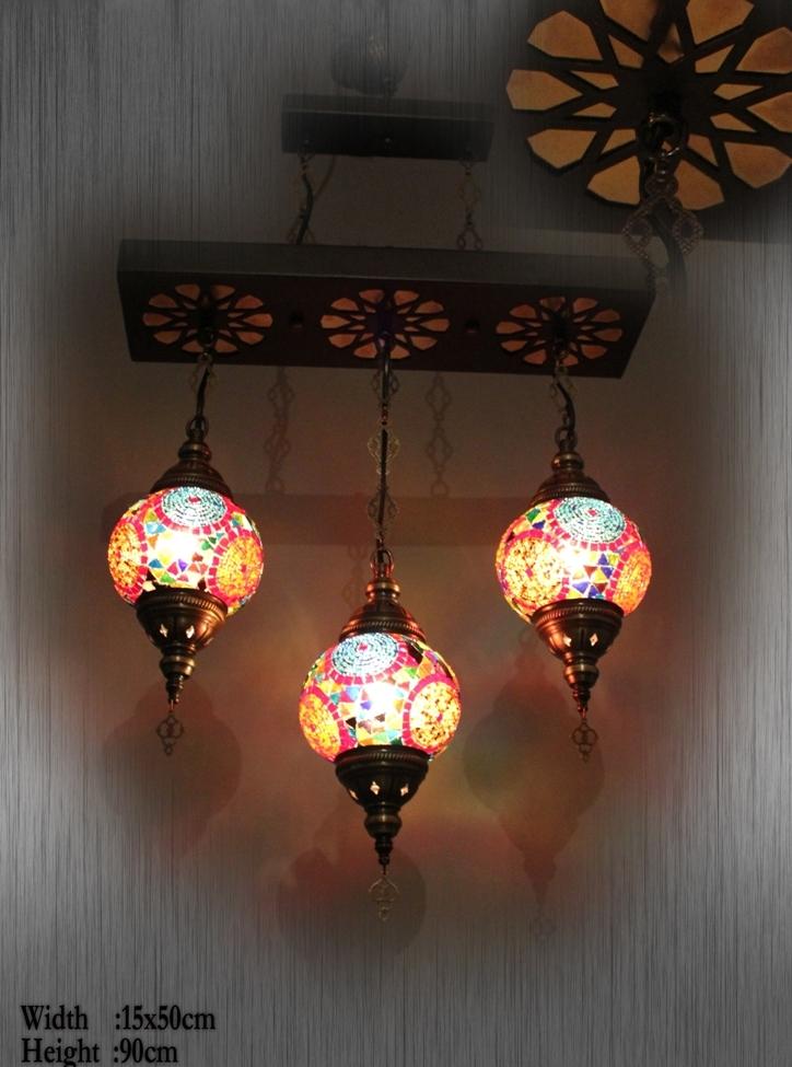 Turkish mosaic lamp chandelier