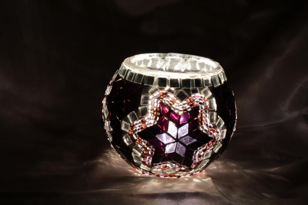 Turkish Mosaic Candle Holder
